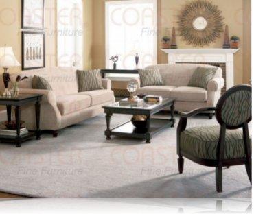 Bradford Fabric Sofa + Love Seat