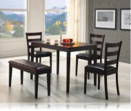 Cappuccino 5 Pc Dining Set