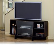 Cappuccino  tv stand shelf