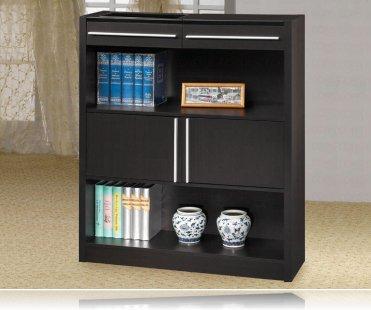 Capuccino Contemporary Bookcase