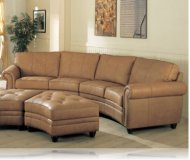 Charleston Leather Sectional