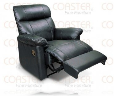 Daventry Black Recliner