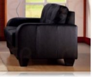 Dolan Leather Love Seat