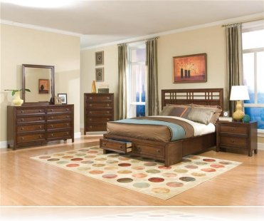 Dominic 5 Piece King Storage Bedroom Set
