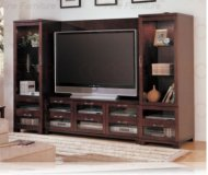 Eden  wall unit media center