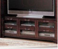 Eden  cherry wood tv stand