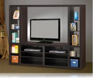 Entertainment  white tv stand