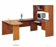 Executive Oak Desk