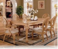 Fenland 7 Pc. Antique White Dining Set