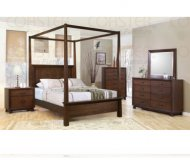Garrett 5 Pc. Queen Canopy Bedroom Set