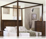 Garrett Canopy Cal. King Bedroom Bed