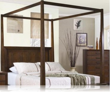 Garrett Canopy king Bedroom Bed