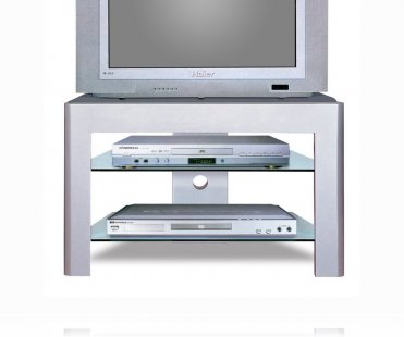 Grey / Silver TV Stand