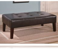 Hampton Ottoman in Brown