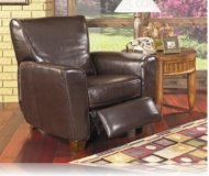 Havana Leather Recliner