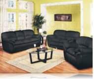 Ivana Leather Sofa + Love Seat