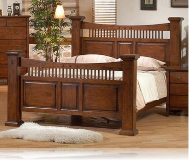 Jackson City King Bedroom Bed