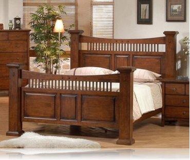 Jackson City Queen Bedroom Bed