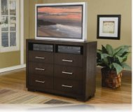 Jessica  cherry wood tv stand