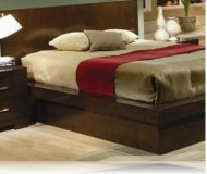 Jessica Cal. King Bedroom Platform Bed