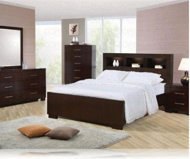 Jessica KE 5 Pc. King Bedroom Set