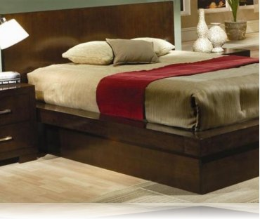 Jessica King Bedroom Platform Bed
