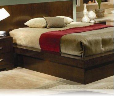 Jessica Queen Bedroom Platform Bed