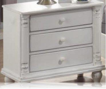 Kayla White Bedroom Dresser