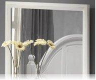 Kayla White Bedroom Mirror