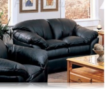 Lavinia Leather Love Seat