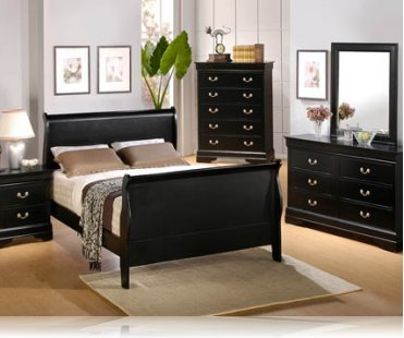 Louis Philippe KE 5 Pc. King Bedroom Set