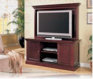 Louis  cherry wood tv stand