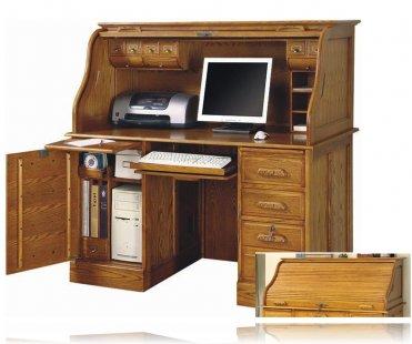 Luxury Brown Computer Desk
