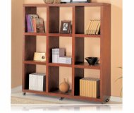 Mahogany Finish Home Office Bookcase