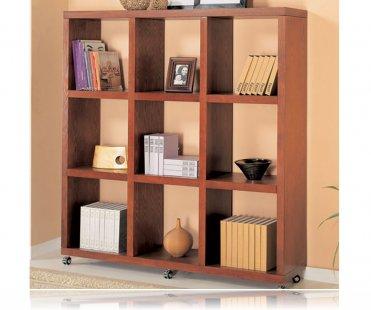 Mahogany Finish Home Office Bookcase