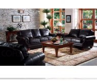Manchester 2 Pc. Leather Sofa + Love Seat