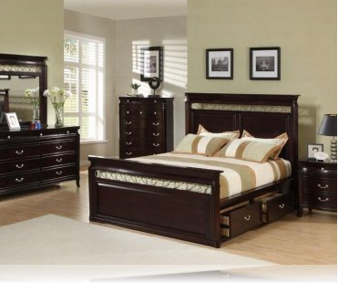 Manhattan KE 5 Pc. King Bedroom Set