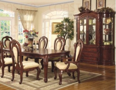 Marbella 7 Pc. Dining Set + China
