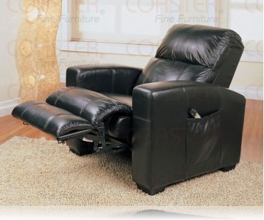 Massage Black Recliner Chair