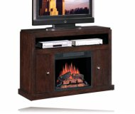 Media Electric Fireplace in Espresso