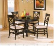 Melton 5 Pc. Dining Set + Round Table