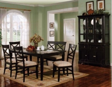 Melton 7 Pc. Dining Set + China