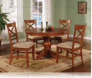 Metropolitan 5 Pc. Dining Set Round Table