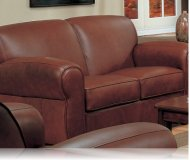 Monterey Leather Love Seat