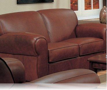 Monterey Leather Love Seat