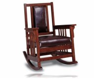 Oak Finish Rocker