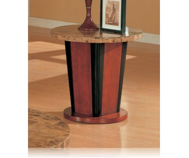 Occasional End Table - Marble Top