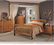Olivia 5 Pc. King Sleigh Bedroom Set