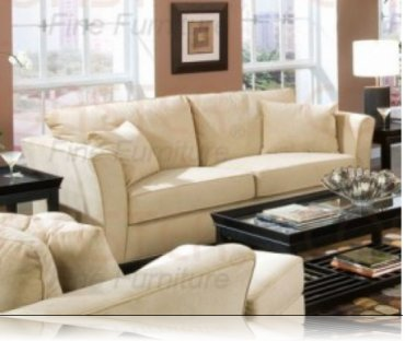 Park Place Cream Velvet Sofa