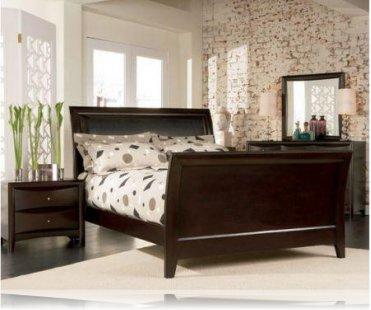 Phoenix KE 5 Pc. King Sleigh Bedroom Set